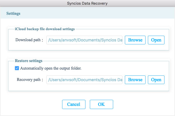 recover icloud backup file